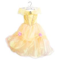 Disfraz Vestido Bella Disney Store Usa Original