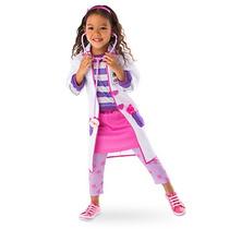 Disfraz Doc Mcstuffins Disney Store Traje Doctora Juguetes