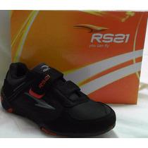 Rs21 Zapato Niño 034304 Negro Combinado