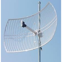 Antena Wifi Parabolica Rejilla 24dbi N