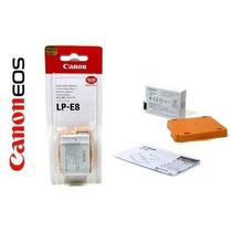 Bateria Original Canon Lp-e8 Eos 600d 550d Kiss X4 T2 T3i T5