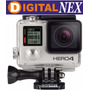 Go Pro Hero 4 Silver Full Hd 1080 4k Gopro Lcd-local Z/norte
