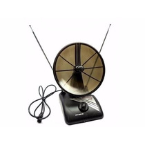 Antena Interna Mini Parabólica - Analógica / Digital