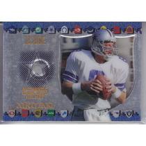 1997 Excalibur Game Helmet 22k Troy Aikman Cowboys