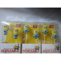 Audifonos Minions Para Varios Dispositivos 3.5mm Mn4