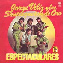 Cd De Jorge Veliz Y Los Santiagueños De Oro Bajado De Lp
