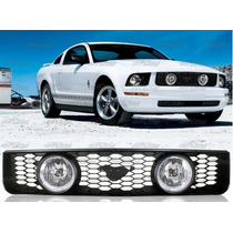 Parrilla Negra De Ford Mustang V6 2005 - 2009 Nueva!!!