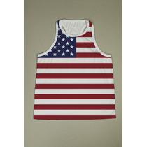 Camiseta Regata Nadador Fem. Usa 9 - Estados Unidos - Eua