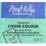 Entrada De Colecccion Concierto Living Colour