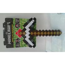 Minecraft Espada/pico 2 En 1 Steve. Juguetiness