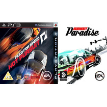 Need For Speed Hot Pursuit + Burnout Paradise Ps3