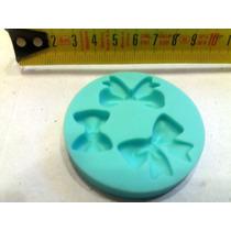 Molde Silicona Moños Moñitos Reposteria Fondant