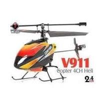V911 Helicopter Rtf 2,4ghz 4 Canais - Completo