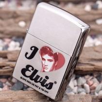 Encendedor Zippo Elvis Presley De Coleccion + Mecha Gratis