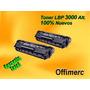 Toner Canon Lbp-3000 (103) 100%nuevo Garantia Total
