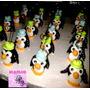 30 Souvenirs Pingüinos Portafoto Porcelana Fria