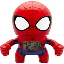 Bulb Botz Marvel Spider Man Clock 7.5 Despertador Diego Vez