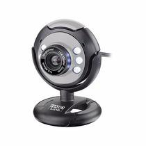 Webcam Hardline Usb, Microfone E Led Visão Noturna
