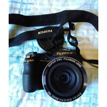 Camera Fujifilm Finepix S3300 Zoom 26x + Bolsa + E. Limpeza