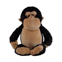 Macaco - Gorila De Pelúcia 55cm - Bichinho Safari