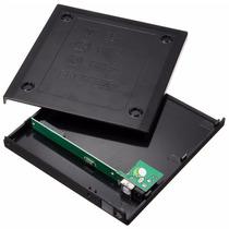 Case Externo Unidad Cd Dvd Quemador Laptop Enclosure Usb 2.0