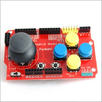 Joystick Shield 2 Ejes Analogico Boton (arduino, Avr, Pic)