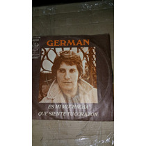 Disco Simple Vinilo German Con Enrique Re 1977 Orfeo 165002