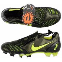 Taco Nike Total 90 Strike Ii Negro-amarill Profecional Nuevo