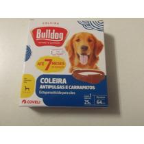 Coleira Antipulgas E Carrapatos Bulldog