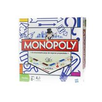 Monopoly Clasico Familiar Original Hasbro Sipi Shop