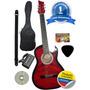 Guitarra+correa+afinador+dvd+clases+forro+pick