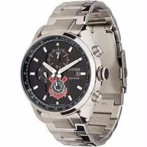 Relógio Citizen Corinthians Tz30428t Ecodrive Ed. Limitada