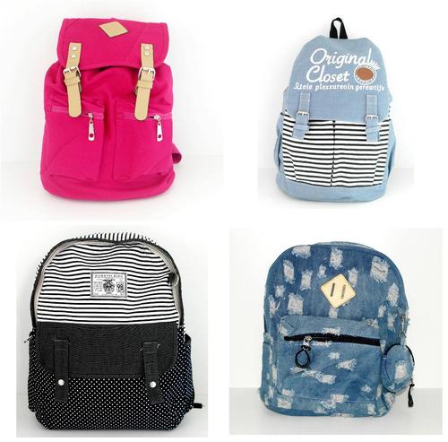 Bolsa Escolar Feminina Mercado Livre : Mochila bolsa feminina escolar faculdade barato frete