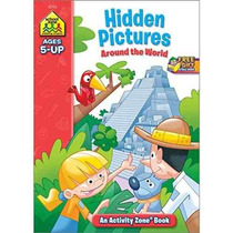 Libro Hidden Pictures Discovery Activity Zone (ages 5-up)