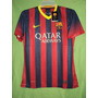 Camiseta Barcelona Local 2013 / 2014 Dorsal Limpio