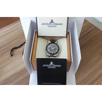 Relógio Jacques Lemans - Ceramic - Swiss Marde - Impecável
