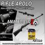 Rifle De Aire Comprimido Apolo 5.5 + Mira + 100 Balines