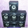 Kit 5 Caixas Acusticas Home Theater Sony 140w
