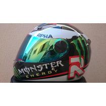 Capacete Monster Energy Rpha Jorge Lorenzo Original Df2