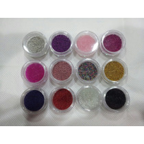 Glitter Decoracion De Uñas Efecto Caviar Micro Esferas