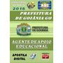 Apostila Prefeitura Goiania Go Agente Apoio Educacional 2016