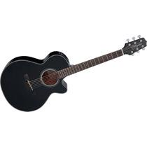 Guitarra Takamine Electroacustica Gf-15ce Negra