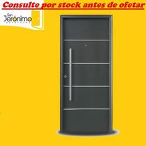 Puerta Exterior Oblak Linea Primma Plus Grafito 1783 80 Cm