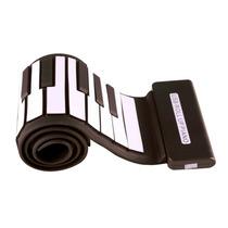Teclado Musical Flexível 49 Teclas Usb / Controlador Midi
