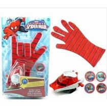 Lança Teias Homem Aranha Para Luva Brinquedo Lançador Spider