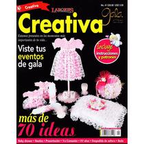 Creativa - + De 70 Ideas - Incluye Instrucciones Y Patrones