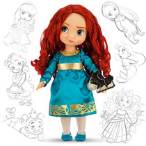 Boneca Princesa Merida Valente Disney Animator Original