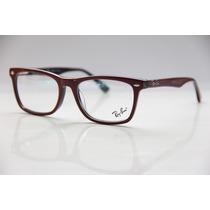 Armação P/ Óculos De Grau Masculino Feminino Ray Ban 5057