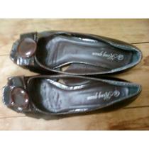 Chatitas Zapatos Sandalias Nº39 Charol Finísimas Impecables