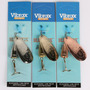 Spinner Pesca Vibrax Blue Fox Nº 6 Cuchara Salmon 3 Colores